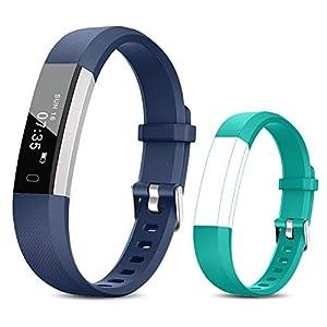 TOOBUR Reloj Inteligente para Mujer Hombre Niños, Pulsera Actividad con Cuenta Pasos y Calorias, Podómetro Smartwatch… 13