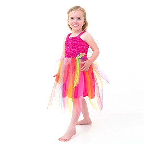 /2212/20/02–Kostüm–Kleid Fee Karneval–6Jahre (Costum Elf)