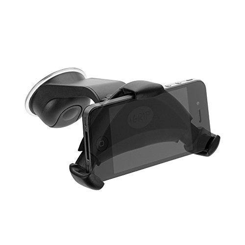 iGRIP T5-40130 Smart Grip'R x'tra - Universal KFZ Halterung für Apple iPhone 6S/7/8/X, Samsung, Sony uvm. [5 Jahre Garantie   Made in Germany   360 Grad drehbar   Vibrationsfrei   Einhandbedienung] Apple Serviette