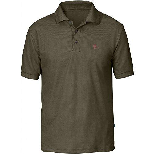 Fjällräven Herren Crowley Pique Polo Shirt, Tarmac, XL