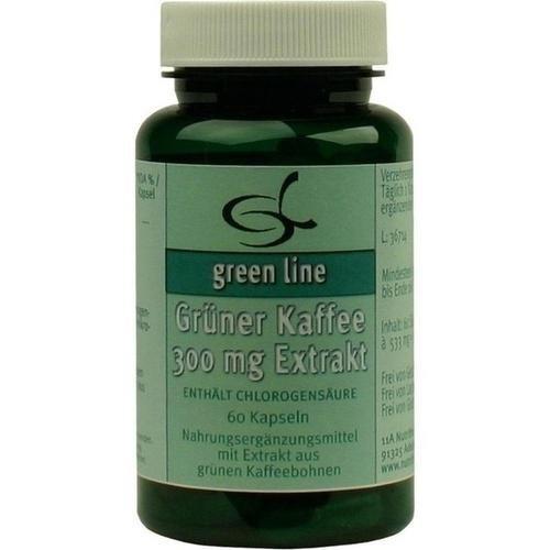 GRÜNER KAFFEE 300 mg Extrakt Kapseln 60 St