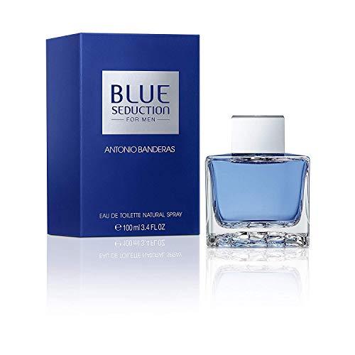 Eau de toilette Blue Seduction Antonio Banderas, flacon vaporisateur de 100 ml