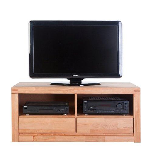 Delft TV Kommode in Kernbuche Massiv geölt B. 120cm NEU 6212