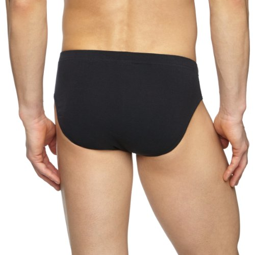 camel active CA20 2-Pack Brief 400490/ 1000 Herren Slips Schwarz (Black)