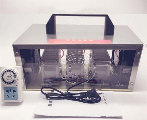 ele ELEOPTION Ozon Generator 30g/h 30000mg/h Luftreiniger Sterilisator Doppel Blätter aus Keramik Ozon Platten mit -