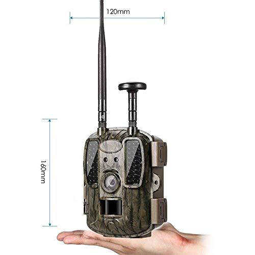 YUN CAMERA@ Caméra de Chasse 4G GPS FTP Trajectoire de la caméra Email avec 4G Chasse Faune Soutien caméra MMS GPRS GSM Photo pièges 4G Vision Nocturne