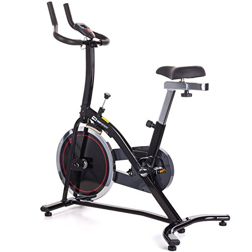 Hop-Sport Indoor Cycle BRAVO Indoorcycling Heimtrainer Fahrrad Speed Bike