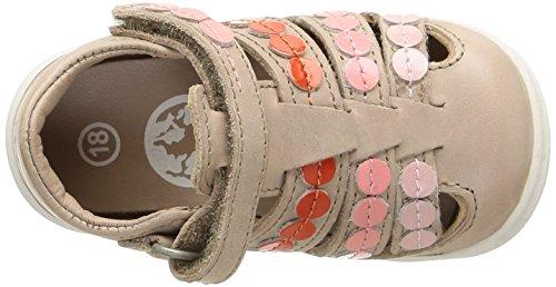 Kickers Gift, Chaussures Bébé marche bébé fille Beige (Beige/Rose)