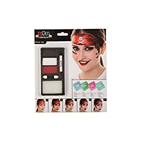 My Other Me Me-207090 Kit Maquillaje Adulto Pirata Chica, Talla única (Viving Costumes 207090)