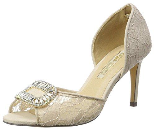 Buffalo Shoes Damen RK 1310-014-S Lace Pumps, Beige (Nude 01), 37 EU