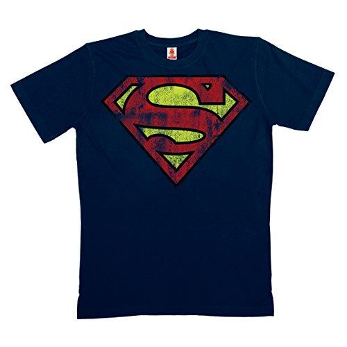 DC-Comics-Superman-Logo-T-Shirt-100-coton-organique-agriculture-biologique-bleu-fonc-LOGOSHIRT