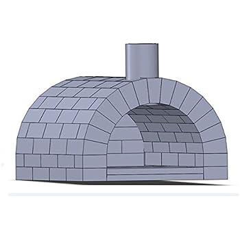 sparset ramster holzbackofen pizzaofen brotbackofen inkl vollausstattung zubeh r garten. Black Bedroom Furniture Sets. Home Design Ideas