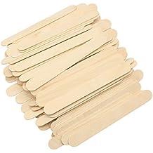 Palos de madera para abanico artesanal, de gran tamaño y anchos, multiusos, para