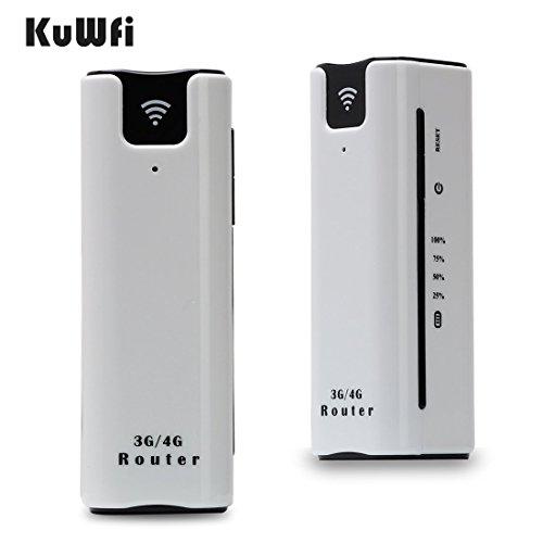 KuWFi–Ruteador móvil inalámbrico 3G WIFI soporte