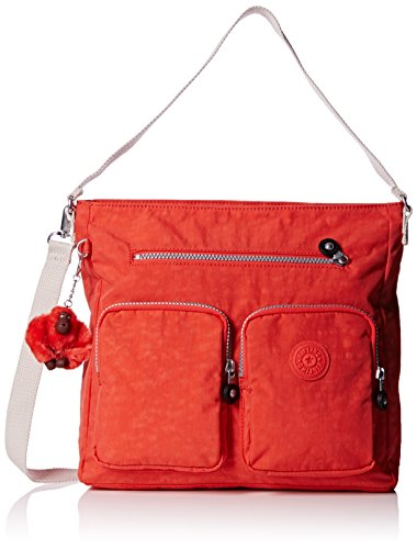 Kipling Borsa a tracolla, Rosso (Rosso (Coral Rose Combo)), 31x29x14 cm (B x H x T)
