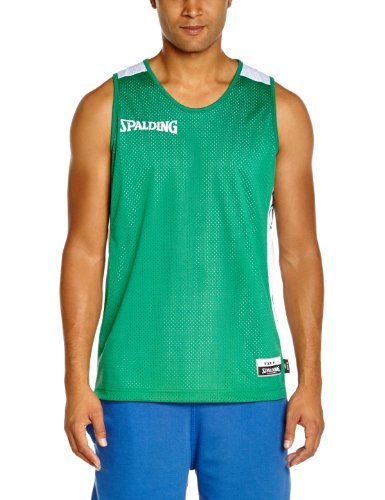 Spalding Teamtrikots & Sets Essential Reversible Shirt, grün/weiß, XL, 300201403