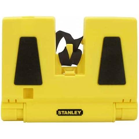 Stanley 0-47-720 - Nivel en forma de esquina, 3 burbujas