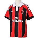 adidas Jungen Trikot AC Milan Home, acm red home 11/black/white, 164, W37478