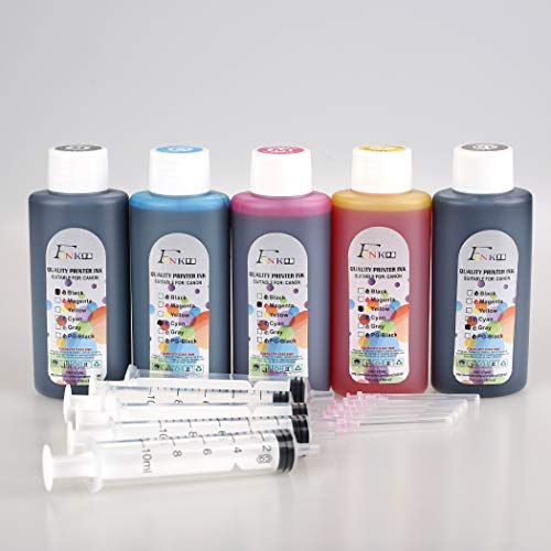 FINK 5 Botellas Tinta Calidad Compatible Brother LC3219
