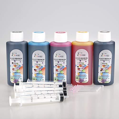 FINK 5 Botellas de Tinta de Calidad Compatible con Canon PG-540 CL-541 PG-545 CL-546 PG-510 CL-511 PG-40 CL-41 PG-37 CL-38 PG-830 CL-831 PG-512 CL-513