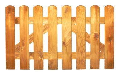 StaketenTür 'Standard' 100x60/60 cm - gerade – kdi / V2A Edelstahl Schrauben verschraubt - aus frischem Holz gehobelt – gerade Ausführung - kesseldruckimprägniert