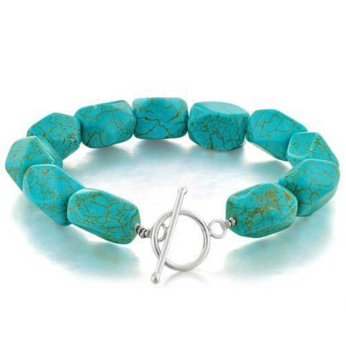 bling-jewelry-argent-sterling-turquoise-nugget-toggle-bracelet