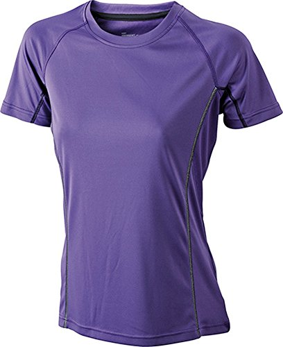Ladies' Running Reflex-T im digatex-package Purple/Black