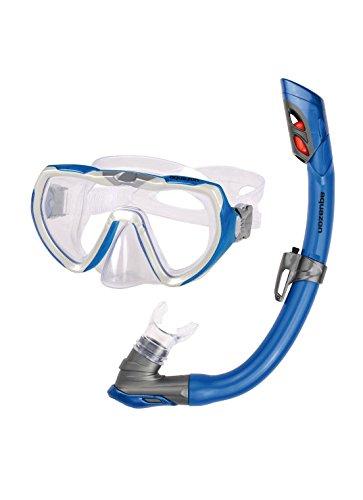 Aquazon Schnorchelset STARFISH, Schnorchelbrille und Schnorchel, für Jugendliche von 8-15 Jahren und Damen