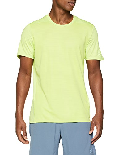 adidas Herren Supernova 37C T-Shirt, Mehrfarbig, L - Herren-shirts, Gewebten Hemden