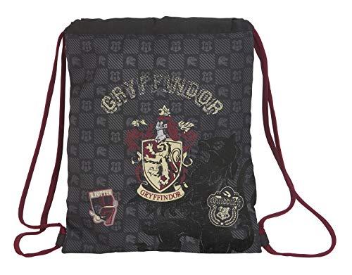 Harry Potter Gryffindor Saco Mochila Plano Cuerdas