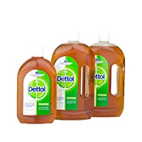 Dettol Antiseptic Liquid 2x750ml + 500ml Free