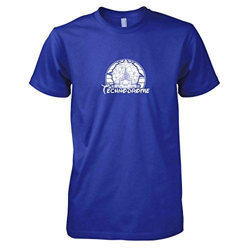 TEXLAB - Turtles Technodrome - Herren T-Shirt Marine