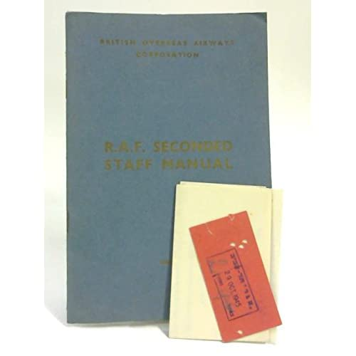 RAF Seconded Staff Manual & Radio Officer Ephemera