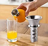 Features: sturdy and durable for your daily use. You do not need to cut the fruit, it is more labor-saving than pressing it, very convenient. Excellent solution for preparing sauces, fruit coulis, gravies, and purees, it is a must-have item for both ...
