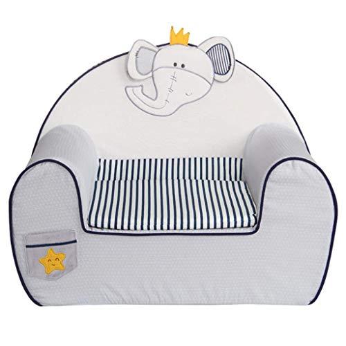 LMCLJJ Kindersofas Schlafsofa für Kinder Gepolsterte Couch Zeitgenössische Kinder Lehnsessel Lounge-Möbel für Jungen und Mädchen Kindersofastuhl Natürlicher Umweltschutz Baumwolle Kinder faul Sofa