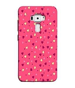 PrintVisa Designer Back Case Cover for Asus Zenfone 3 ZE552KL (5 inches) (Heart Love Sweet Heart Beloved Darling Cupid)