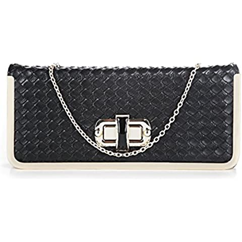 YS Fashion Designer New Style Cross-body Party Bag With Gold