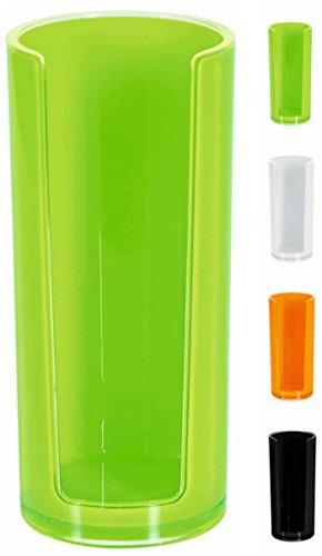Spirella 10.17765 Sydney - Dispensador de discos de algodón (acrílico), color verde kiwi
