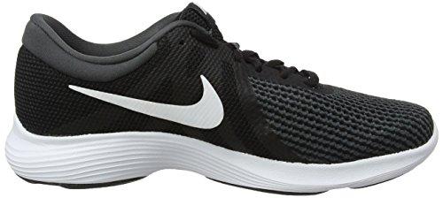 Nike Damen Wmns Revolution 4 EU Laufschuhe, Schwarz/Anthrazit Schwarz (Black/white/anthracite)