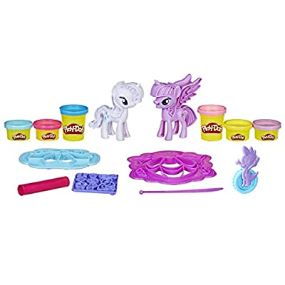 PLAY-DOH My Little Pony Princess Twilight Sparkle and Rarity Fashion Fun Set