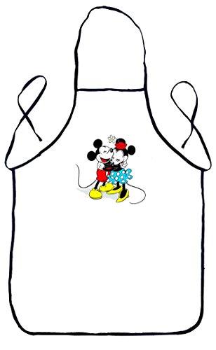 Grembiule da cucina mickey mouse & minnie