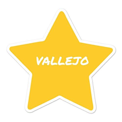 Preisvergleich Produktbild JOllify Aufkleber - VALLEJO - Farbe: Design: Stern