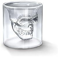 Générique Verre à Alcool Forme de Tête de Mort