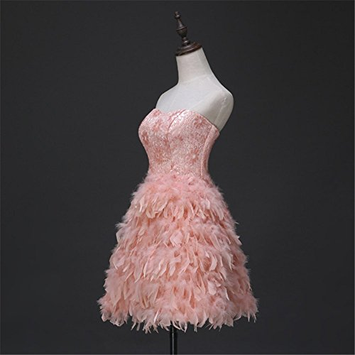 Drasawee - Robe - Trapèze - Femme Rose