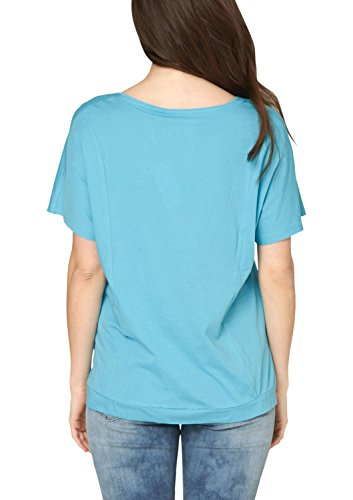 Triangle by S.Oliver 19.899.32.1892 - T-shirt - Femme Turquoise - Türkis (blue green 62D0)