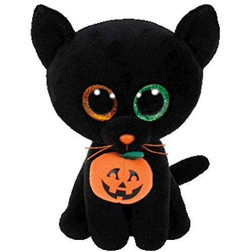 Beanie Boo Halloween Cat - Shadow - 28cm 11""