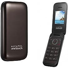"""Alcatel One Touch 10.35D - Teléfono móvil de 1.8"""" (Dual SIM) marrón"""