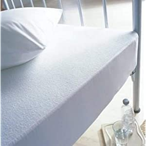 Bedding Online Terry Towelling Waterproof Mattress Protector - Single Size - 90cm x 190cm