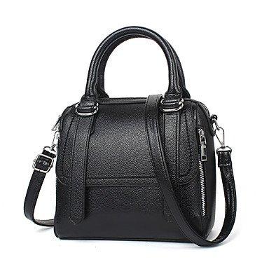 Le donne della moda ricamo PU in pelle Tracolla Messenger Crossbody borse/borsa borse,giallo Blushing Pink