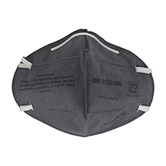 3M Anti Pollution Dust Mask (Grey, Pack of 4)